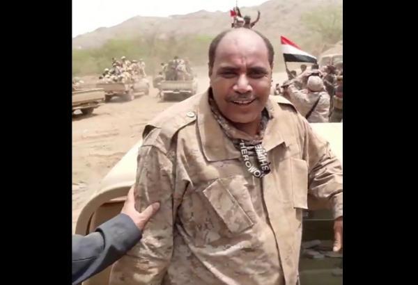 الخوداني في جبهة صعدة مع أبطال القوات الحكومية (فيديو)