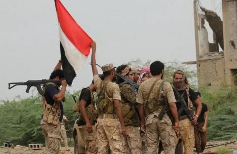 بمحاذاة حيران وميدي.. القوات الحكومية تدخل أولى مناطق عبس حجة