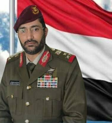 الدفاع اليمنية وهيئة الاركان تنعيان استشهاد العميد محمد صالح الاحمر اثناء تاديته واجبه العسكري