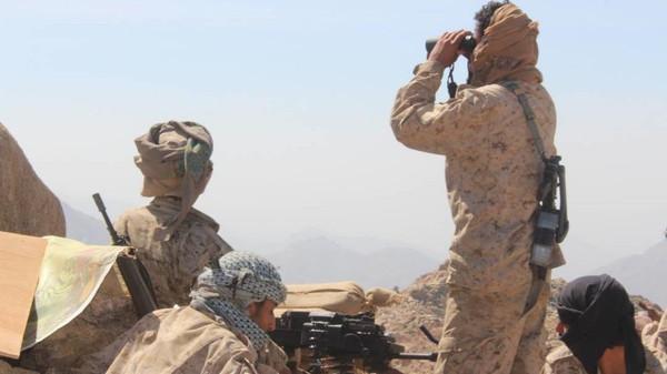القوات الحكومية تفشل هجوماً لمليشيا الحوثي بكتاف صعدة وتكبدها خسائر فادحة