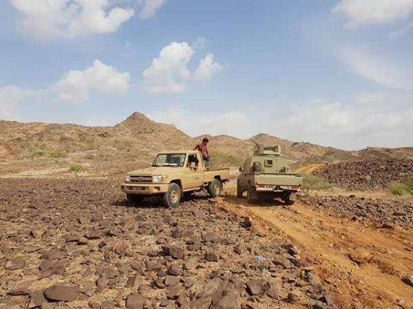 القوات الحكومية تشن هجوماً واسعاً في مديرية كتاف بصعدة
