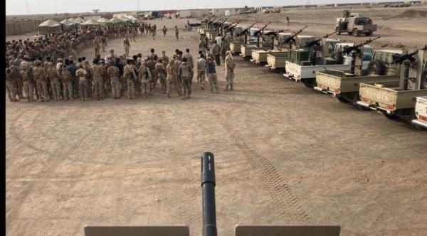 تعزيزات عسكرية جديدة تابعة للمقاومة الوطنية تصل جبهة الساحل الغربي