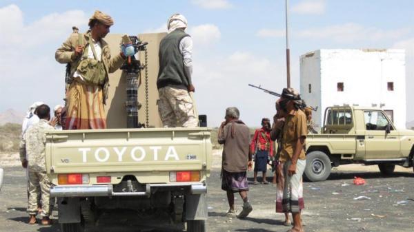 استشهاد 5 من الحزام الأمني وإصابة 4 في هجوم للقاعدة على نقطة أمنية بأبين