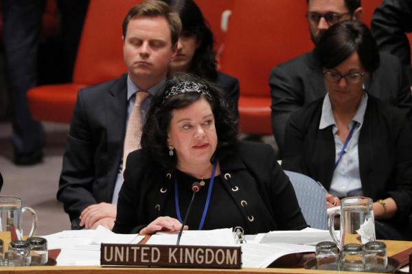 """بريطانيا تبلغ مجلس الأمن بأن الإجراء الإيراني بشأن ناقلتها يمثل """"تدخلا غير قانوني"""""""