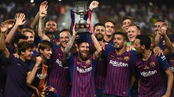برشلونة يتوج بكأس السوبر الإسباني للمرة الـ13 في تاريخه