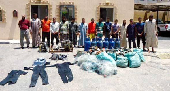 الجيش المصري يواصل حربه على الإرهاب: القبض على 16 من المطلوبين وتدمير 1704 &#34نفق&#34 بسيناء
