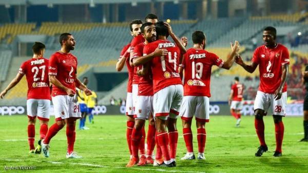 """الأهلي المصري يفترس """"اطلع بره"""" بتسعة أهداف نظيفة في """"أبطال أفريقيا"""""""