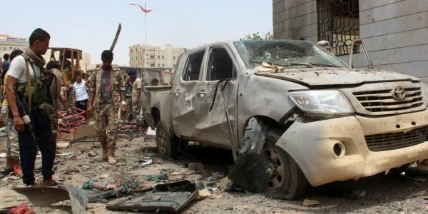 صور- هجوم انتحاري دام في عدن تبناه داعش