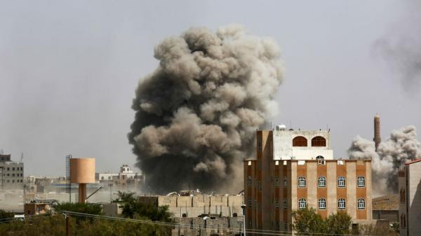 14 غارة سعودية على صنعاء