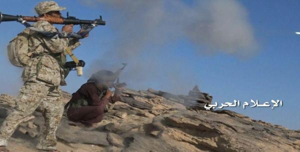 وحدات الجيش تهاجم مواقع المرتزقة بالجوف