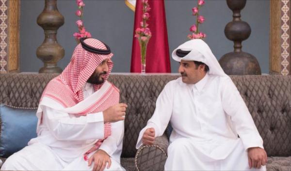 اتصال بين أمير قطر وولي العهد السعودي بتنسيق امريكي