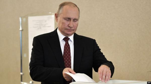 خسائر كبيرة لحزب بوتين في موسكو