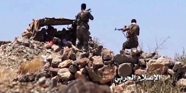 هجوم على مواقع المرتزقة بنهم غرب مأرب