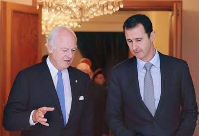 سوريا تشترط التدخل الدولي بمشاركتها في ضرب الإرهاب