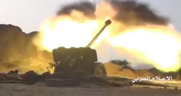 قصف مدفعي على مواقع وتجمعات المرتزقة بتعز