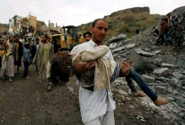 تقرير: العدوان السعودي قتل وجرح 34 ألف مدني يمني خلال 900 يوم