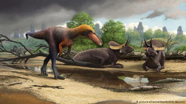 هكذا كانت الأرض خلال الساعات الأخيرة قبل انقراض الديناصورات