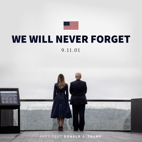 """""""قرار عسكري"""" من ترامب في ذكرى 11 سبتمبر"""