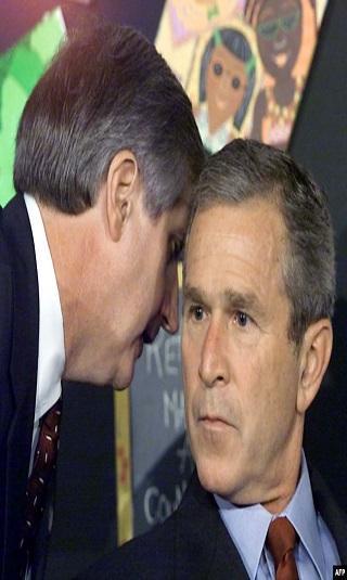 """""""الملاك هو التالي"""".. ما الذي حدث داخل طائرة بوش في 11 سبتمبر؟"""