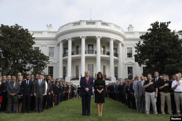 الولايات المتحدة تحيي ذكرى هجمات الـ11 من سبتمبر