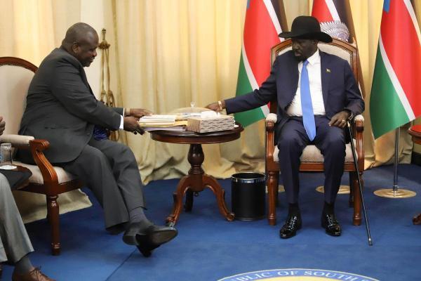 اتفاق على تشكيل حكومة انتقالية في جنوب السودان بحلول 12 نوفمبر