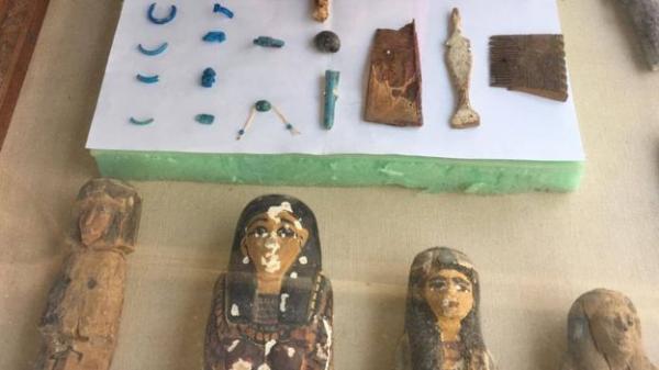 مقبرة صانع القرابين الذهبية للإله آمون في مصر خالية من الذهب!