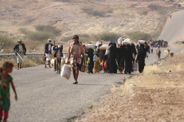 الأمم المتحدة: نزوح 350 ألف يمني في 2019