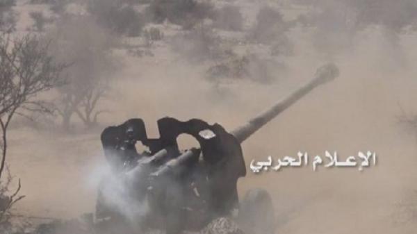 قصف يمني مكثف في العمق السعودي