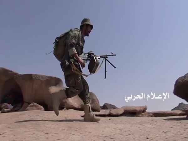 الجيش يؤمن موقعين شرق صنعاء