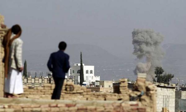 استشهاد 5 مواطنين في غارة استهدفت &#34قلابا&#34 بتعز