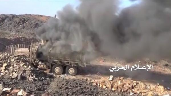 تعز: قصف صاروخي ومدفعي على تجمعات الغزو في موزع