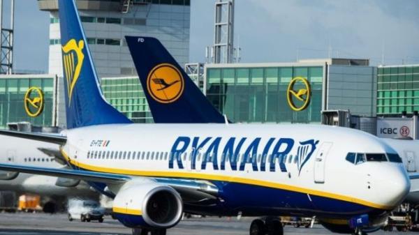 شركة طيران ريان إير تلغي نحو 50 من رحلاتها يومياً