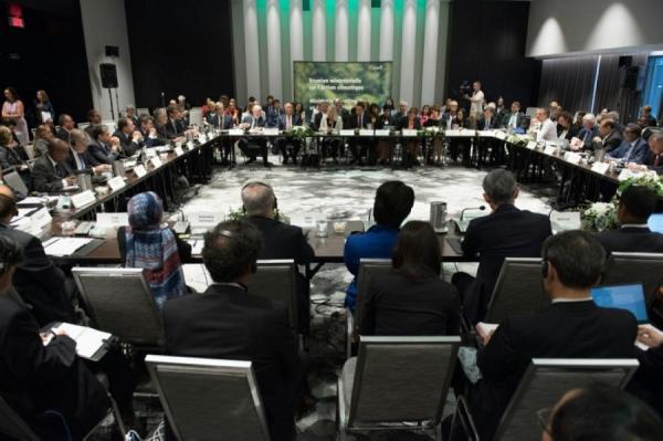 وزراء بيئة 30 دولة يبحثون اتفاق باريس للمناخ في غياب واشنطن