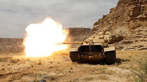 قتلى حوثيون في إحباط القوات الحكومية محاولة تسلل لهم بحيفان تعز