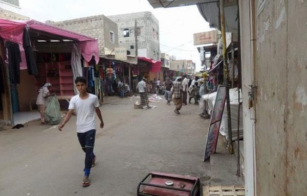 مقتل شخص بقنبلة كانت بحوزته في مدينة جعار أبين