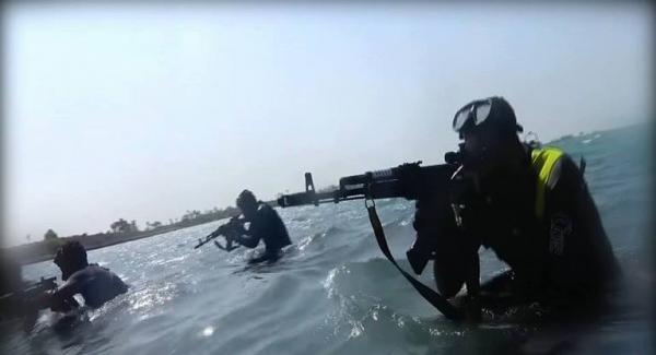 حديث الصور: القوات البحرية اليمنية تحمي المياة الإقليمية