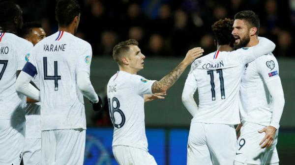 تصفيات كأس أوروبا 2020: فرنسا تفوز على إيسلندا وتقترب أكثر من النهائيات