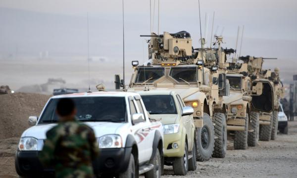 في صور: انطلاق معارك استعادة الموصل