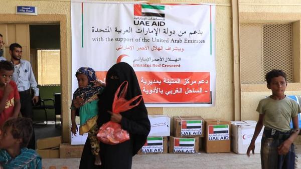 الهلال الإماراتي يقدم كميات جديدة من الأدوية للقطاع الصحي في الساحل الغربي