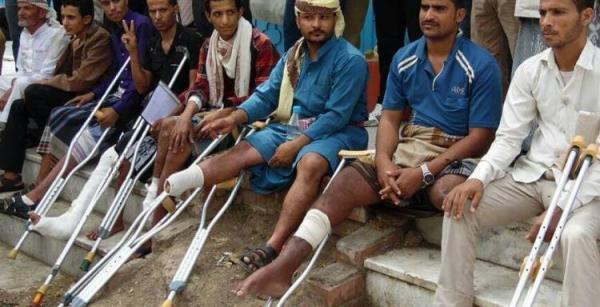 5 ملايين يورو منحة أوروبية لمساعدة مصابي الحرب في اليمن