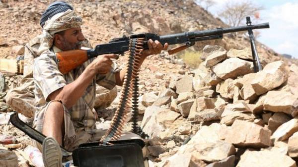 مقتل وإصابة 19 حوثياً في جبهة دمت الضالع وأوامر بتسريع الحسم