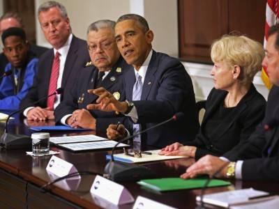 الرئيس الأمريكي يأمر بوضع كاميرات مراقبة في ملابس الشرطة المحلية