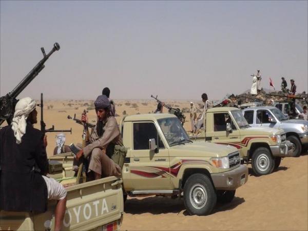 مقاومة آل حميقان في البيضاء تبادل مليشيا الحوثي جثثاً بأسرى (أسماء)