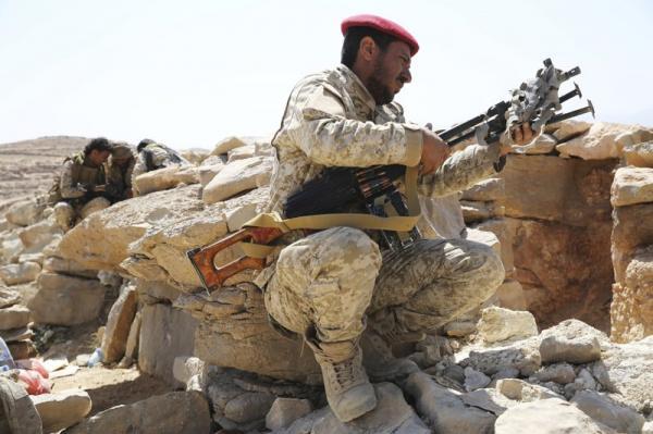 تقدم محرز للقوات الحكومية بنهم وسط معارك عنيفة مع مليشيا الحوثي