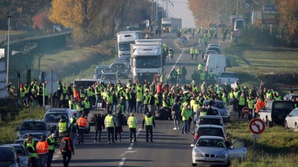 تمدد مظاهرات &#34السترات الصفراء&#34 الى مدن برتغالية