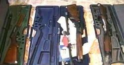 قوات الامن المركزي تضبط شحنة سلاح جديدة