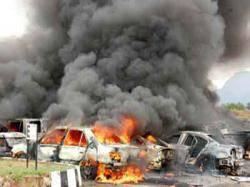 العراق.. مقتل 15 واصابة 25 في انفجار سيارة مفخخة شمال بغداد