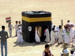 صورة تجسد مُعاناة المسلمين في أداء فريضة الحج تنال إعجاب الآلاف