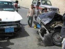 وفاة 13 واصابة 42 في حوادث السير عشية عيد الأضحى