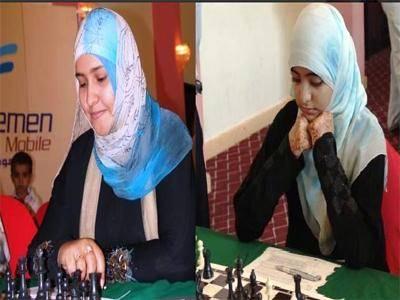 """أمل جميل وأميمة عوض إلى """"ابو ظبي"""" للمشاركة في شطرنج العرب"""
